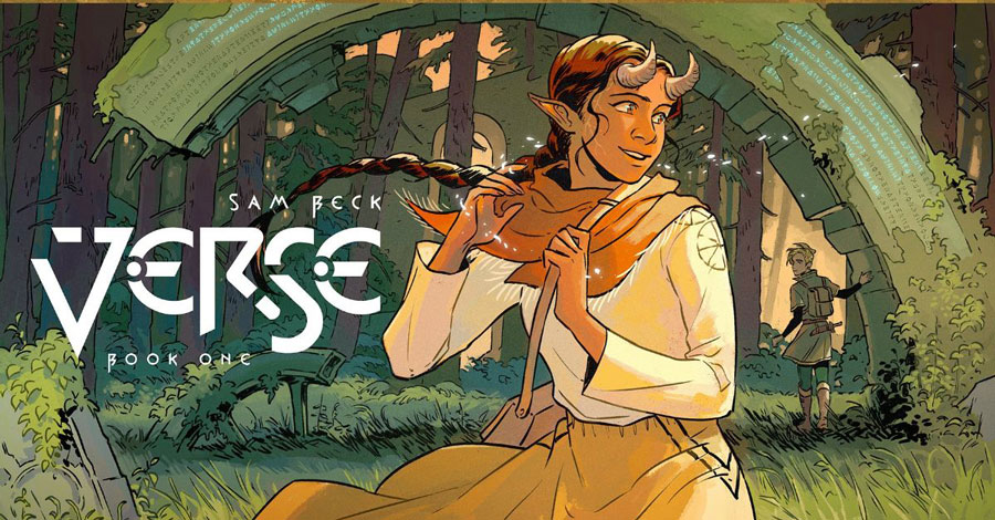 Vault's Wonderbound imprint to publish Sam Beck's 'Verse'