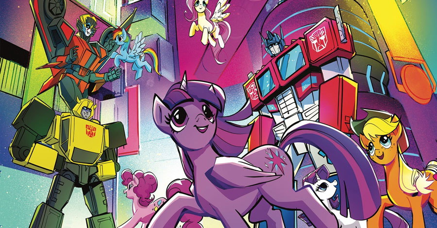 Transformers, My Little Pony will cross over again in April
