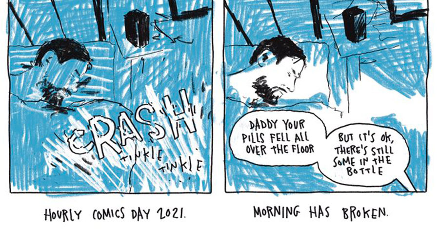 Sunday Comics | A round-up from Hourly Comics Day