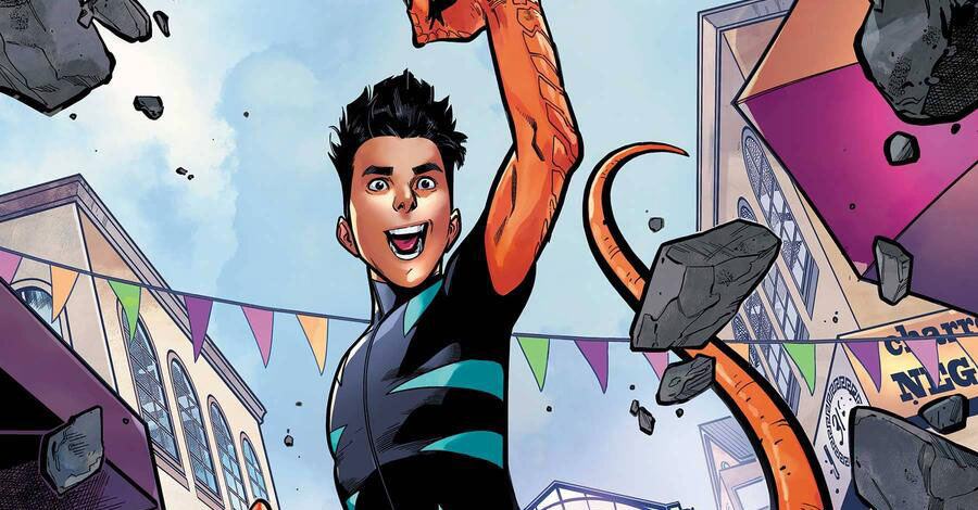 Reptil roars in a new series from Marvel this May