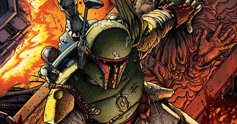Learn what happened when Boba Fett lost a frozen Han Solo in 'War of the Bounty Hunters'