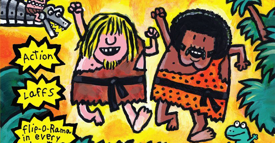 Scholastic discontinues Pilkey's 'The Adventures of Ook and Gluk' due to 'passive racism'