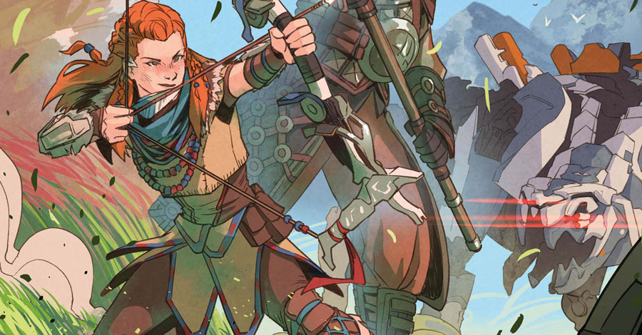 Titan announces a second 'Horizon Zero Dawn' miniseries