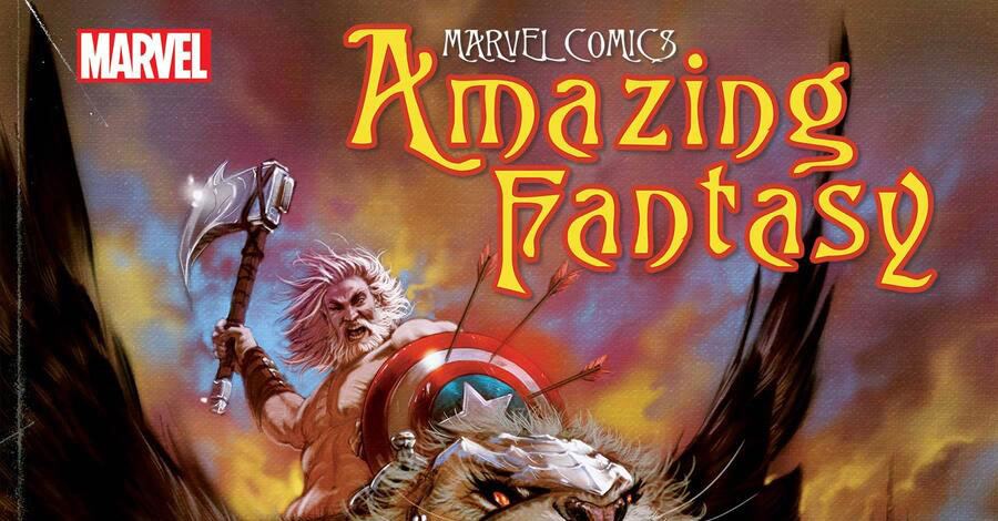 Marvel announces a new 'Amazing Fantasy' series by Kaare Andrews