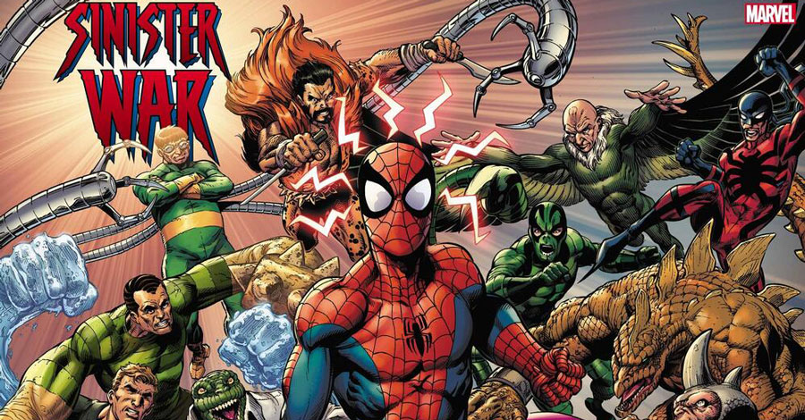 Spidey's villains go to war with each other in July
