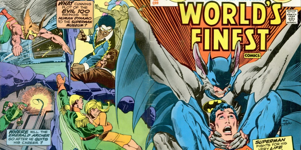 Re-reading 'World's Finest' #258, the comic that got Jason Aaron into world-building