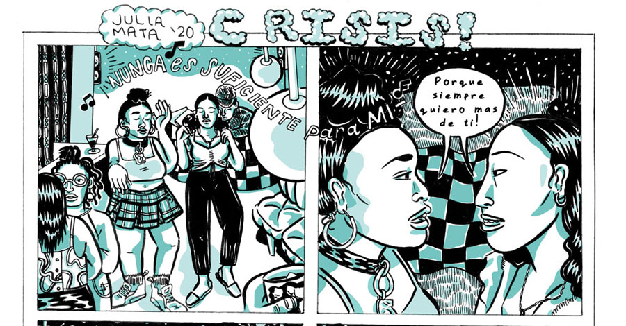 Julia Mata's 'Crisis!' coming from D+Q in 2024