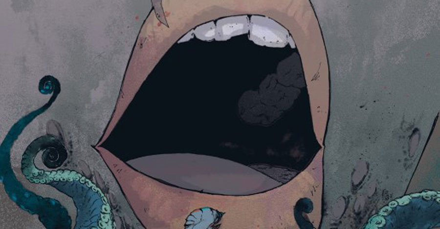 BOOM! unleashes the horror miniseries 'Maw' in September