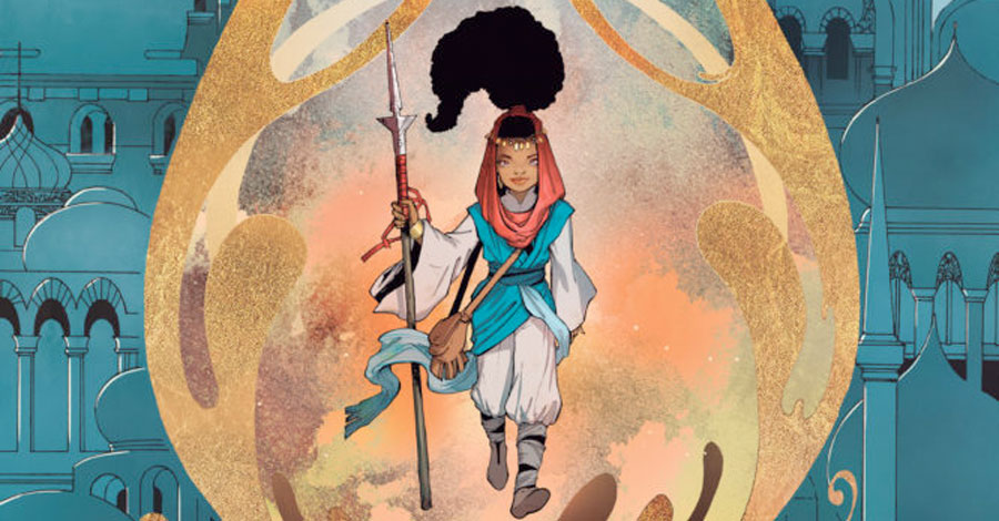 Smash Pages Q&A: Marc Bernardin on 'Adora and The Distance'