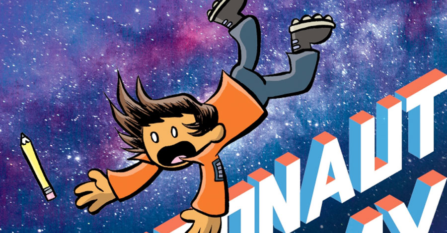Smash Pages Q&A: Dave Roman on 'Astronaut Academy: Splashdown' and more