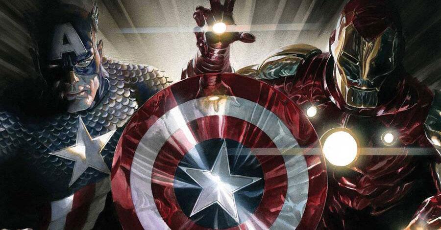 Captain America + Iron Man team up in a new mini by Landy + Unzueta