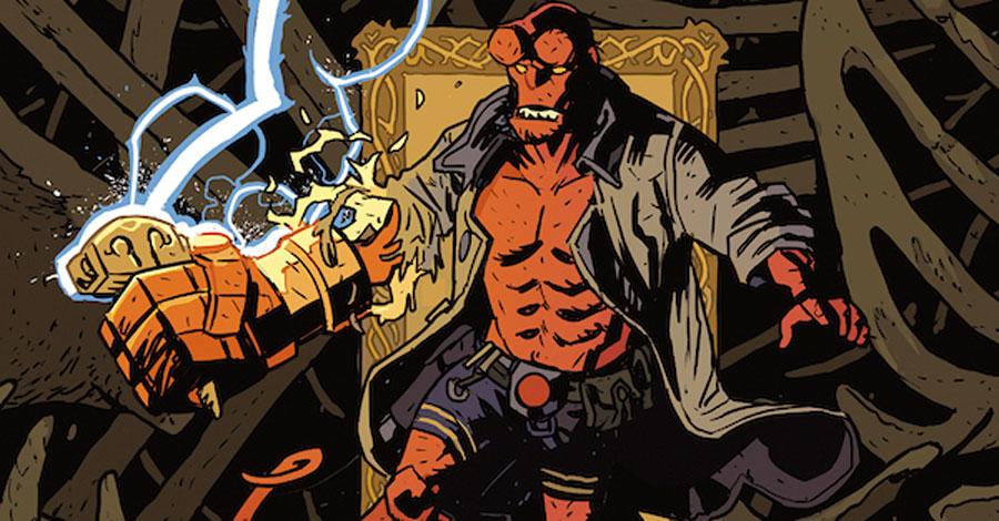 Dark Horse will adapt 'Hellboy: The Bones of Giants' into comics