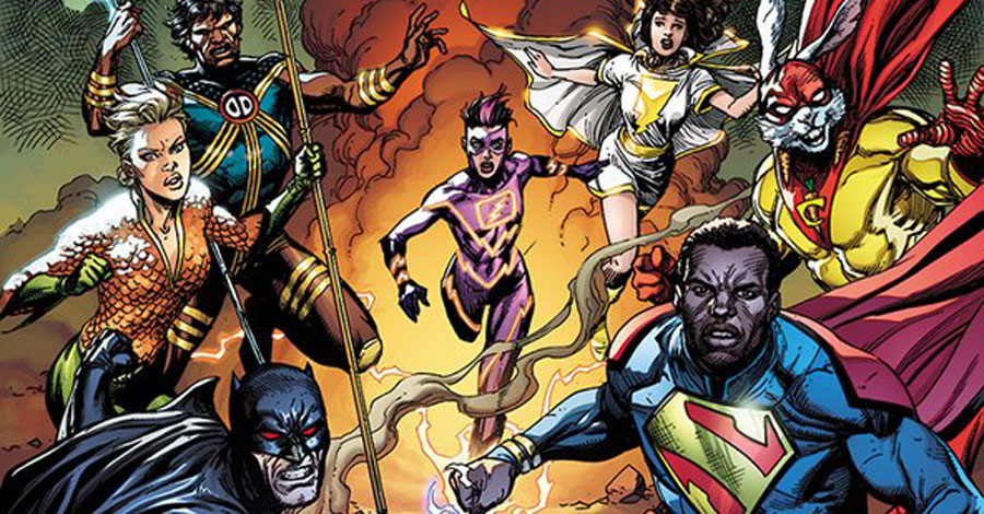 'Justice League Incarnate' spins out of 'Infinite Frontier' in November