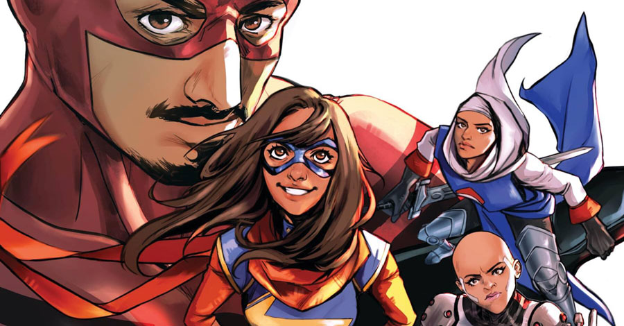 Whilce Portacio, Jeremy Holt + more contribute to 'Marvel's Voices: Identity'