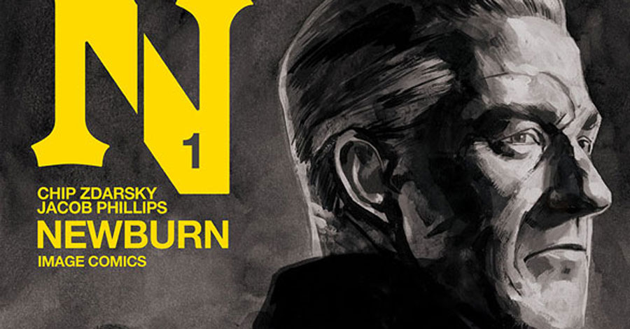 Zdarsky + Phillips team for the hardboiled 'Newburn'
