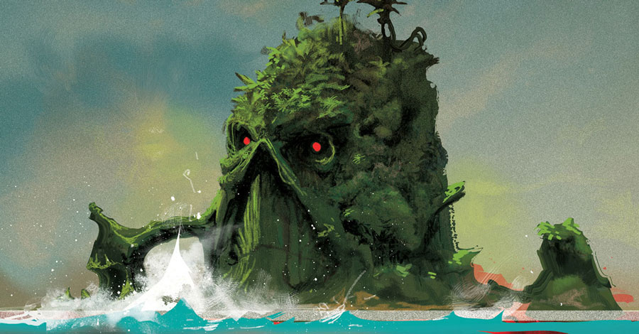 Lemire + Mahnke send Swamp Thing to 'Green Hell' in December