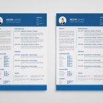 Clean Blue Resume