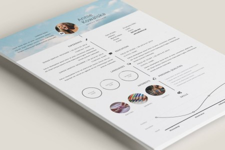 Free Timeline Illustrator Resume Template for Personal Use Here is free timeline resume template for personal usage  Flexible designs  of the pages are easy to use and customize  so for any opportunity you can  tailor