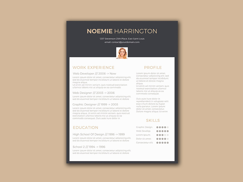Black-Elegant-Resume Template Cover Letter Job Free Black Elegant Resume Cv Design Ukzwbd on