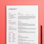 Clean Typographic Resume