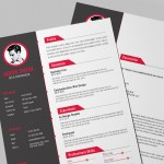 Creative Red Resume
