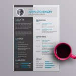 Elegant Vector Resume
