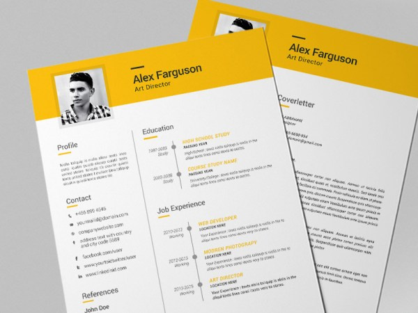 Free Clean Professional Resume Template