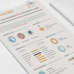 Flat Infographic Resume
