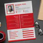 Pool Resume Template