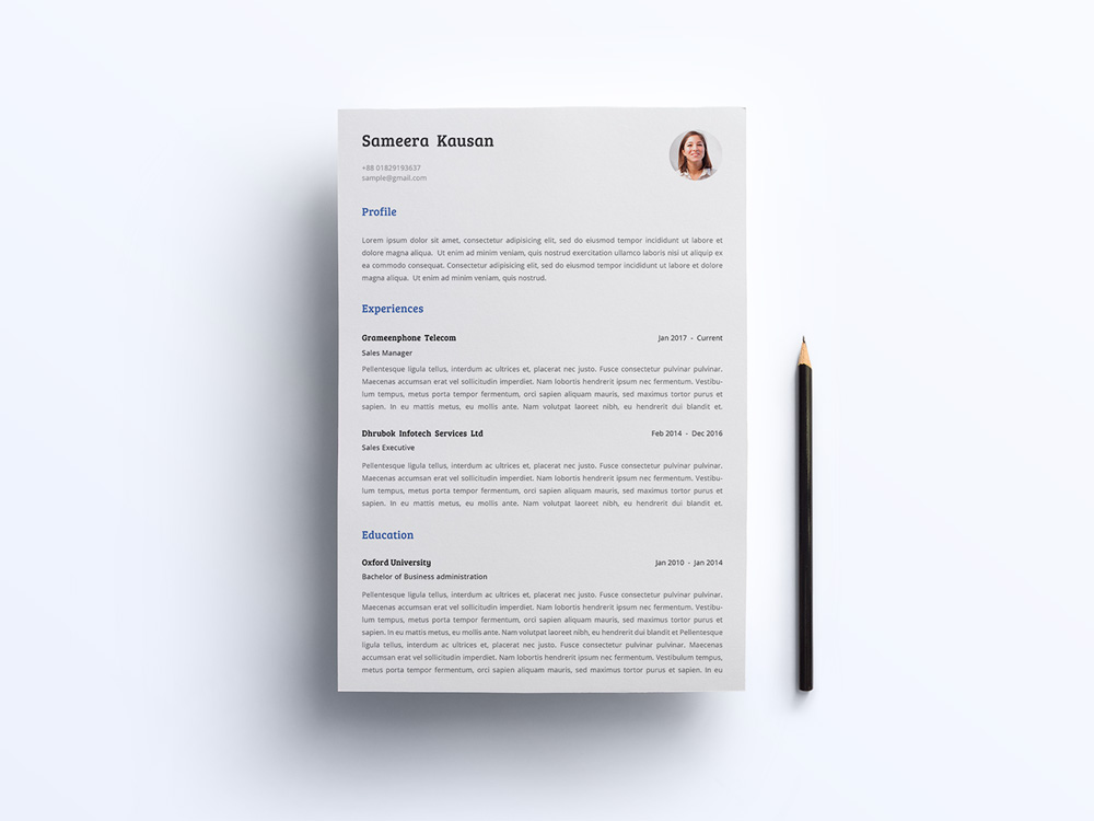 Simple Resume And Cover Letter Smashresume