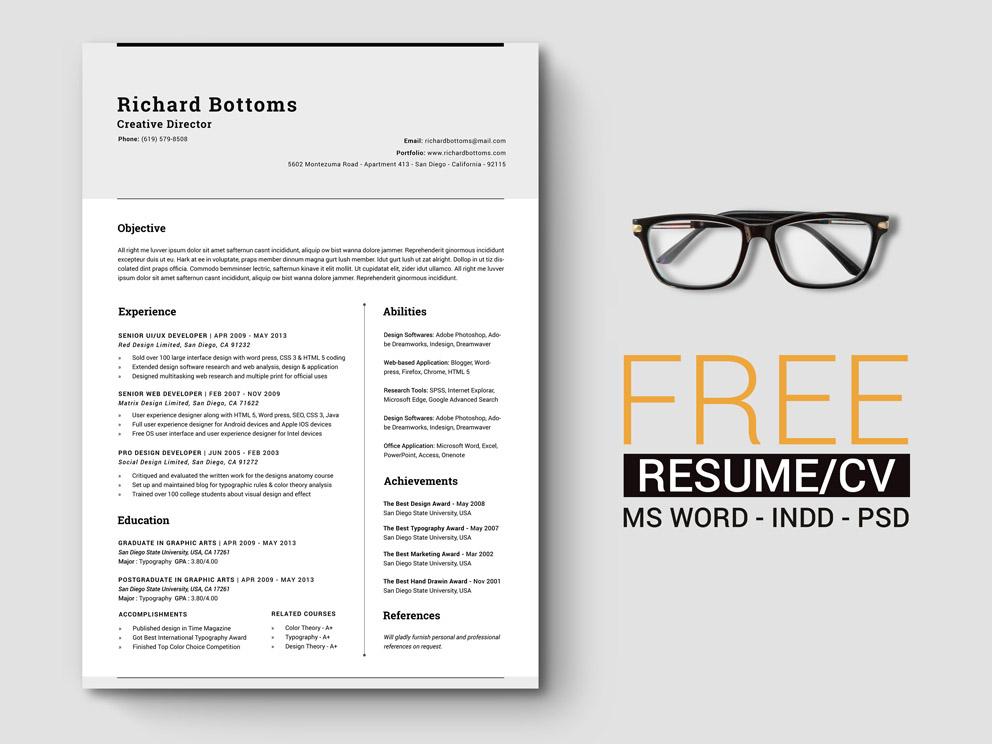 Timeless Resume Template Smashresume