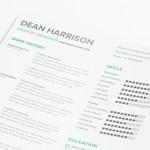 Minimal Typographic Resume