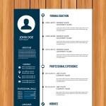 Timeline Vector CV