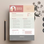 Elegant Colorful Resume