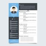 Vector Flat Resume
