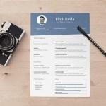 Minimalist Designer CV