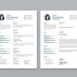 Simple Illustrator Resume
