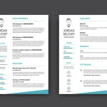 Clean PSD Resume