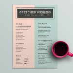 Weiners Resume Template