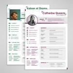 Couple Resume Template