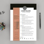 Lauren Resume Template