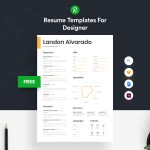 Minimalist Designer Resume