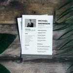 Sales CV Template