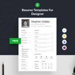 Valdez Resume Template