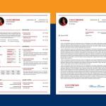 Modern Infographic CV