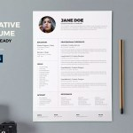 Creative Printable Resume
