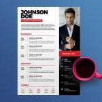 Clean PSD CV/Resume