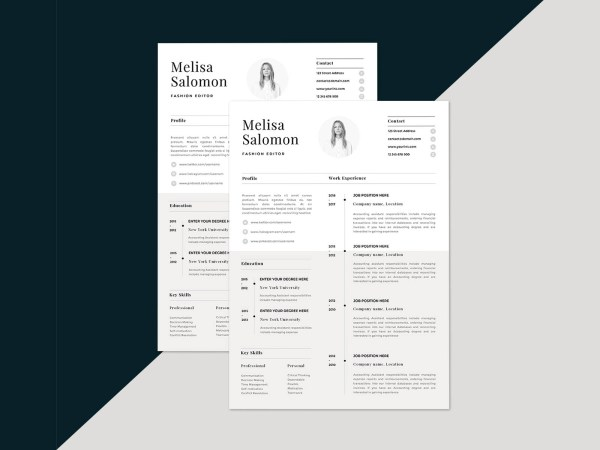 Free Resume Template - Paris