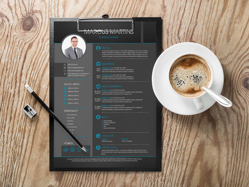 Free Business Trainer Resume Template