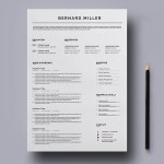 General Word Resume